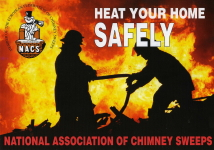 NACS Heat your home safely HETAs chimney sweep Billericay